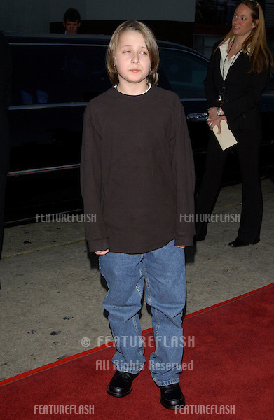Actor RORY CULKIN at the Los Angeles premiere of his movie It Runs In The Family..April 7, 2003.