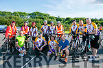 Members  of the Chain gang at the Pedal In The Park event from Tralee Bay Wetlands on Friday evening