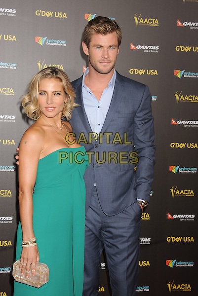 LOS ANGELES, CA - JANUARY 31: Actress Elsa Pataky (L) and actor Chris Hemsworth attend the 2015 G'Day USA Gala featuring the AACTA International Awards presented by Qantas at Hollywood Palladium on January 31, 2015 in Los Angeles, California.<br /> CAP/ROT/TM<br /> &copy;TM/ROT/Capital Pictures