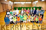 Colaiste na Sceilge are looking to the KETB for funding to upgrade their facilities at the school pictured here on Friday last were front l-r; Ella Corcoran, Mark O'Mahony, Eoighan O'Grady, Stephen Reardon, Liudas Alimas, Fergal O'Shea, Liam O'Connor, Brianna O'Sullivan, Nicole Roddy, Cara O'Shea, Mia Flaherty, Rebecca Corcoran, back l-r; Anna Egan(SNA), Cian O'Connor, William Galvin, Shay Stapleton, Kate Power(KETB), Paul O'Shea, Sadhbh O'Neill(PE Teacher), Daniel Casey, Gillian O'Connor(PE Teacher), John O'Connor(Principal), Jimmy Deenihan(KETB), Fiona O'Connell(PE Teacher) & Darren O'Sullivan(IT Tralee Sports & Recreation Student).