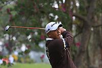 Wei-chih Lu (TPE) on the 7th tee during Round 1 of the UBS Hong Kong Open, at Hong Kong golf club, Fanling, Hong Kong. 23/11/2017<br /> Picture: Golffile | Thos Caffrey<br /> <br /> <br /> All photo usage must carry mandatory copyright credit     (&copy; Golffile | Thos Caffrey)