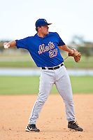 Marinus Vernooij of the Gulf Coast League Mets during the game against the Gulf Coast League Nationals June 27 2010 at the Washington Nationals complex in Viera, Florida.  Photo By Scott Jontes/Four Seam Images