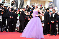 www.acepixs.com<br /> <br /> May 24 2017, Cannes<br /> <br /> Elle Fanning arriving at the premiere of 'The Beguiled' during the 70th annual Cannes Film Festival at Palais des Festivals on May 24, 2017 in Cannes, France.<br /> <br /> By Line: Famous/ACE Pictures<br /> <br /> <br /> ACE Pictures Inc<br /> Tel: 6467670430<br /> Email: info@acepixs.com<br /> www.acepixs.com
