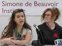 Gabrielle  Bouchard in 2O12.<br /> <br /> PHOTO : Pierre Roussel  - Agence Quebec Presse