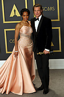 09 February 2020 - Hollywood, California - Regina King and Brad Pitt attend the 92nd Annual Academy Awards presented by the Academy of Motion Picture Arts and Sciences held at Hollywood & Highland Center. Photo Credit: Theresa Shirriff/AdMedia