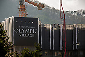 9th November 2016; PyeongChang, South Korea; The building site of the Athletes village in the Olympic village in the Pyoengchang region, South Korea. The Olympic Winter Games will be held from 9 until 25 February 2018 in the Pyoengchang mountain region