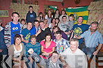 John B O'Halloran who celebrated his 21st with his kilmoyley hurlers and parents and family in Tochar Ba?n, Kilmoyley on Saturday night, (John B is seated 2nd from right)...