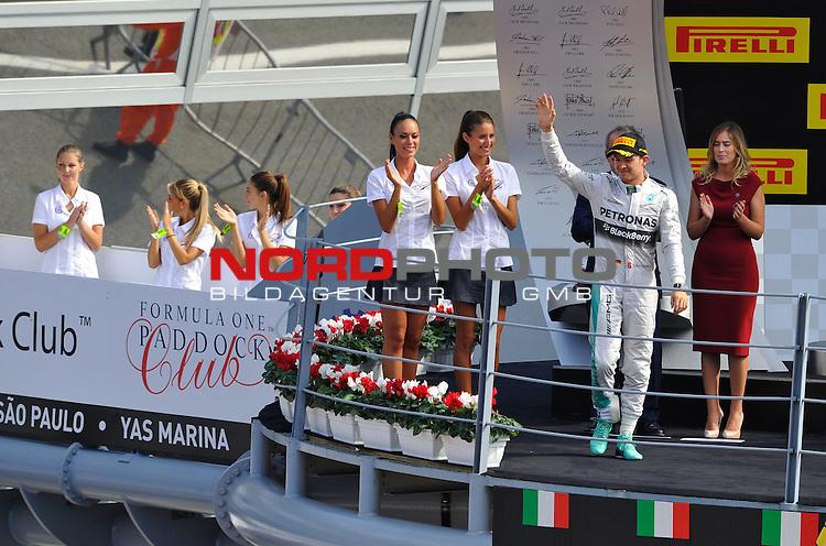 Podium - Nico Rosberg (GER), Mercedes GP<br />  Foto &copy; nph / Mathis
