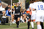 11 October 2009: Florida State's Tiana Brockway (15). The Duke University Blue Devils played the Florida State University Seminoles to a 0-0 tie after overtime at Koskinen Stadium in Durham, North Carolina in an NCAA Division I Women's college soccer game.