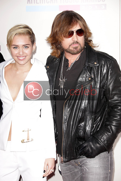 Miley Cyrus, Billy Ray Cyrus<br />