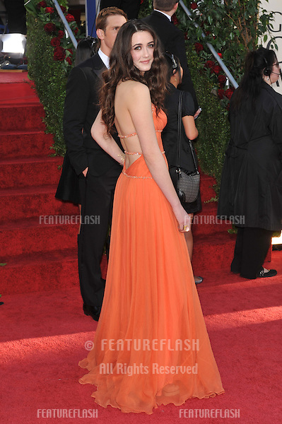 Madeline Zima at the 66th Annual Golden Globe Awards at the Beverly Hilton Hotel..January 11, 2009 Beverly Hills, CA.Picture: Paul Smith / Featureflash