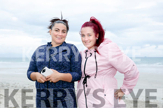 At the Ballyheigue Summer Festival King of the Beach Run on Monday were Melissa Campion and Julie Holman