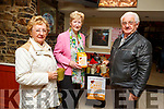 Supporting the Kerry Hospice coffee morning in the Brogue Inn on Friday.<br /> L to r: Tom and Helen O'Connor and Mairead Fernane.