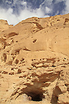 Arava, a copper mine tunnel from the Egyptian period in Timna Valley, 14th-12th centuries BC