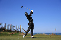 Josh Oddy during Round Two of the West of England Championship 2016, at Royal North Devon Golf Club, Westward Ho!, Devon  23/04/2016. Picture: Golffile | David Lloyd<br /> <br /> All photos usage must carry mandatory copyright credit (&copy; Golffile | David Lloyd)