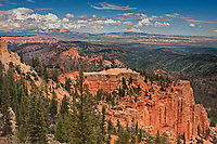 730750196 looking north from farview point in bryce canyon national park utah united states