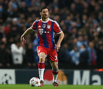 Xabi Alonso of Bayern Munich  - UEFA Champions League group E - Manchester City vs Bayern Munich - Etihad Stadium - Manchester - England - 25rd November 2014  - Picture Simon Bellis/Sportimage