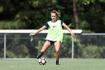 CARY, NC - JUNE 01: Claire Wagner. The North Carolina Courage held a training session on June 1, 2017, at WakeMed Soccer Park Field 7 in Cary, NC.