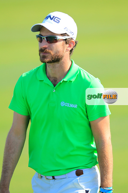 Alejandro CANIZARES (ESP) walks onto the 10th green during Thursday's Round 2 of the 2015 Commercial Bank Qatar Masters held at Doha Golf Club, Doha, Qatar.: Picture Eoin Clarke, www.golffile.ie: 1/22/2015