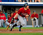 9 March 2009: Houston Astros' outfielder Darin Erstad at bat during a Spring Training game against the Washington Nationals at Space Coast Stadium in Viera, Florida. The Nationals defeated the Astros 8-6 in extra innings of the Grapefruit League matchup. Mandatory Photo Credit: Ed Wolfstein Photo
