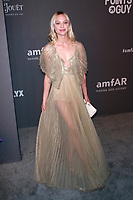NEW YORK, NY - FEBRUARY 6: Sasha Pivovarova arriving at the 21st annual amfAR Gala New York benefit for AIDS research during New York Fashion Week at Cipriani Wall Street in New York City on February 6, 2019. <br /> CAP/MPI99<br /> &copy;MPI99/Capital Pictures