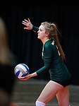 November 22, 2019; Rapid City, SD, USA; Northwestern vs. Faulkton Area at the 2019 South Dakota State Volleyball Championships at the Rushmore Plaza Civic Center in Rapid City, S.D. (Richard Carlson/Inertia)