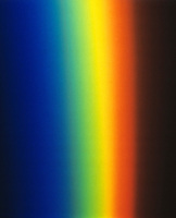 COLORS OF A SPECTRUM<br /> White Light  Refracted by Prism Forms a Spectrum