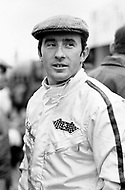 Watkins Glen, New York, USA. 01 Oct 1967. Scottish Formula One racecar driver Jackie Stewart attends the 1967 Watkins Glen Formula One Grand Prix.