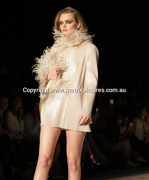 15 MAY 2017 SYDNEY AUSTRALIA<br /> WWW.MATRIXPICTURES.COM.AU<br /> <br /> NON EXCLUSIVE PICTURES<br /> <br /> MERCEDES-BENZ FASHION WEEK AUSTRALIA RESORT 18 COLLECTIONS CELEBRITY GUEST ARRIVALS LEADING UP TO THE JUSTIN CASSIN SHOW. <br /> <br /> Note: All editorial images subject to the following: For editorial use only. Additional clearance required for commercial, wireless, internet or promotional use.Images may not be altered or modified. Matrix Media Group makes no representations or warranties regarding names, trademarks or logos appearing in the images.