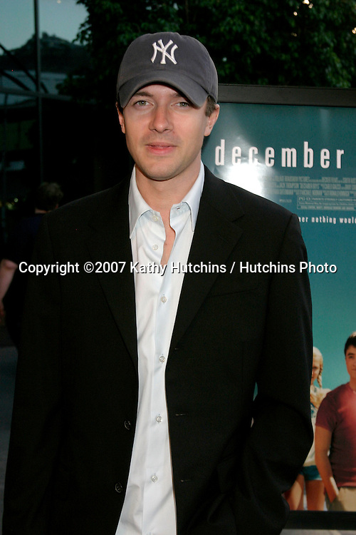 "Topher Grace.""December Boys"" Premiere.Director's Guild Theater.Los Angeles,  CA.September 6, 2007.©2007 Kathy Hutchins / Hutchins Photo..."