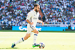 Real Madrid's player Daniel Carvajal during a match of La Liga Santander at Santiago Bernabeu Stadium in Madrid. October 02, Spain. 2016. (ALTERPHOTOS/BorjaB.Hojas)
