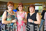 Kate Crean, Breda Nolan and Denise Crean (all Tralee) enjoying the Ladies Lunch & Fashion afternoon on Sunday last held in Ballyroe Heights Hotel in aid of the  Recovery Haven Tralee.