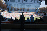An Argentina banner hands at Soccer City in Johannesburg, South Africa on Thursday, June 17, 2010 during Argentina's and South Korea FIFA World Cup first round match.