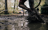 splish/splash running along...<br /> <br /> U23 Men's race<br /> Superprestige Gavere / Belgium 2017