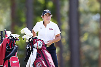 CHAPEL HILL, NC - OCTOBER 11: Ana Pelaez of the University of South Carolina at UNC Finley Golf Course on October 11, 2019 in Chapel Hill, North Carolina.