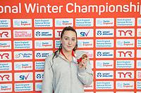 Picture by Allan McKenzie/SWpix.com - 13/12/2017 - Swimming - Swim England Winter Championships - Ponds Forge International Sport Centre - Sheffield, England - Maisie Elliott.