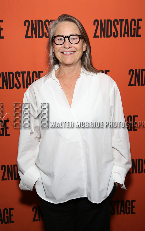 Cherry Jones attends the Opening Night performance of 'A Parallelogram'  at The Second Stage Theatre on August 2, 2017 in New York City.