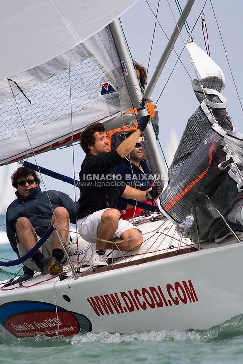 Dicodi -Beneteau Platu 25 - Regata Trofeo Nautilus - Puerto Deportivo Pobla Marina - 29/3/2008