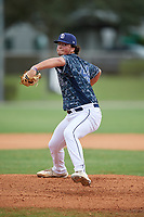 Blake Money (44) during the WWBA World Championship at the Roger Dean Complex on October 12, 2019 in Jupiter, Florida.  Blake Money attends Summit High School in Spring Hill, TN and is committed to Louisiana State.  (Mike Janes/Four Seam Images)
