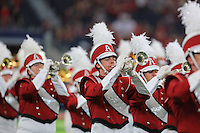 Arkansas Democrat-Gazette/RICK MCFARLAND --09/26/15--  Arkansas's Texas A&M's in the  quarter of their game at ATT Stadium in Arlington Texas on Saturday Sept. 26, 2015.