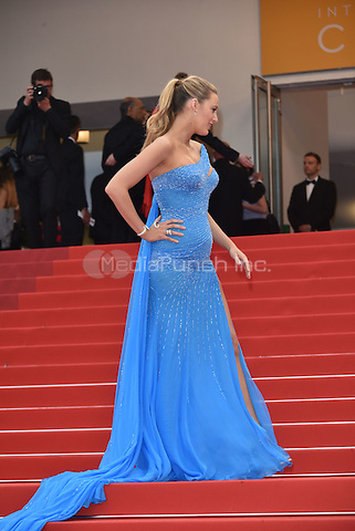 Blake Lively at 'The BFG' screening at the 69th International Cannes Film Festival, France May 14, 2016<br /> CAP/PL<br /> &copy;Phil Loftus/Capital Pictures / MediaPunch *** North American &amp; South American Rights Only***