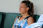 The Hague, Netherlands, June 14: Delfina Merino #12 of Argentina looks on after the field hockey bronze medal match (Women) between USA and Argentina on June 14, 2014 during the World Cup 2014 at Kyocera Stadium in The Hague, Netherlands. Final score 2-1 (2-1)  (Photo by Dirk Markgraf / www.265-images.com) *** Local caption ***