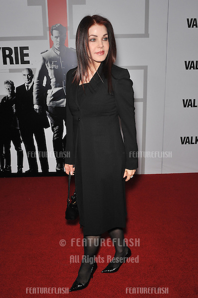 "Priscilla Presley at the Los Angeles premiere of ""Valkyrie"" at the Directors Guild of America Theatre, Los Angeles..December 18, 2008  Los Angeles, CA.Picture: Paul Smith / Featureflash"