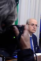Roma, 9 Maggio 2017<br />  Il Procuratore della Repubblica del tribunale di Catania, Carmelo Zuccaro, durante l'audizione alla Commissione Parlamentare immigrazione