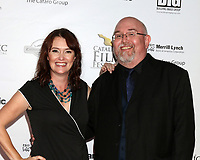 LOS ANGELES - SEP 30:  Alisha Seaton, Frank Roel at the Catalina Film Festival - September 30 2017 at the Casino on Catalina Island on September 30, 2017 in Avalon, CA
