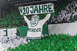 10.02.2019, Weser Stadion, Bremen, GER, 1.FBL, Werder Bremen vs FC Augsburg, <br /> <br /> DFL REGULATIONS PROHIBIT ANY USE OF PHOTOGRAPHS AS IMAGE SEQUENCES AND/OR QUASI-VIDEO.<br /> <br />  im Bild<br /> <br /> 120 &gt;Jshre werder ostkurve<br /> <br /> Foto &copy; nordphoto / Kokenge