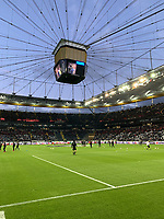 Stadioninnenraum - 07.03.2019: Eintracht Frankfurt vs. Inter Mailand, UEFA Europa League, Achtelfinale, Commerzbank Arena, DISCLAIMER: DFL regulations prohibit any use of photographs as image sequences and/or quasi-video.