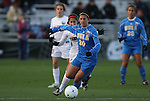 04 December 2009: UCLA's Kristina Larsen. The Stanford University Cardinal defeated the University of California Los Angeles Bruins 2-1 in sudden victory overtime at the Aggie Soccer Complex in College Station, Texas in an NCAA Division I Women's College Cup Semifinal game.