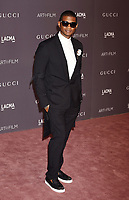 LOS ANGELES, CA - NOVEMBER 04: Singer Usher  attends the 2017 LACMA Art + Film Gala Honoring Mark Bradford and George Lucas presented by Gucci at LACMA on November 4, 2017 in Los Angeles, California.<br /> CAP/ROT/TM<br /> &copy;TM/ROT/Capital Pictures