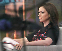 NEW YORK, NY-  May 31: Anne Hathaway at NBC's Today Show promoting her new movie Ocean's 8 on May 31, 2018 in New York City. <br /> CAP/MPI/RW<br /> &copy;RW/MPI/Capital Pictures